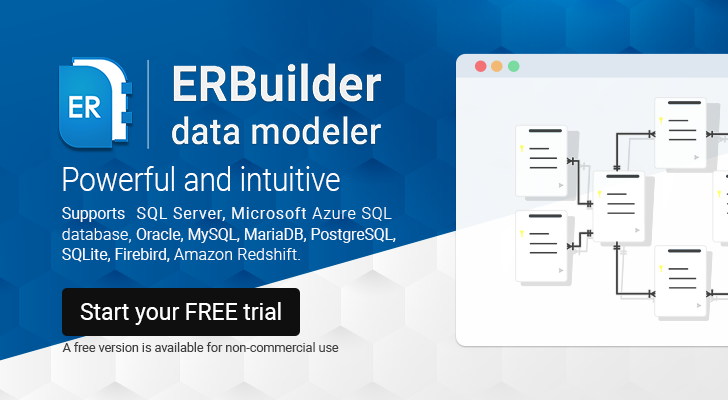 ERBuilder: powerful and intuitive data modeler.