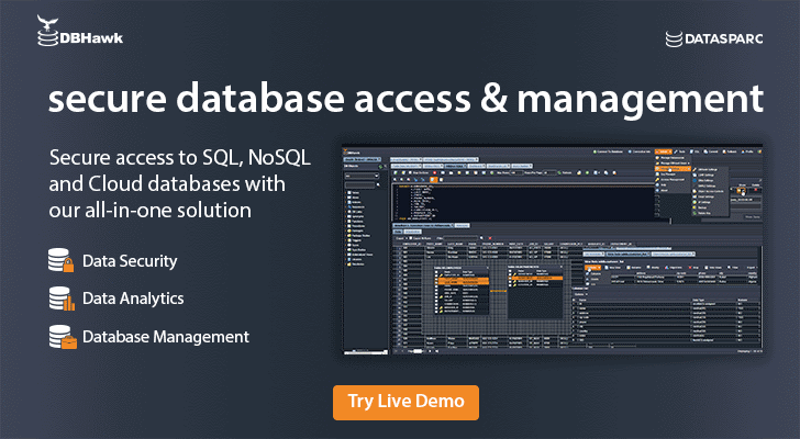Secure access to SQL, NoSQL and Cloud databases.
