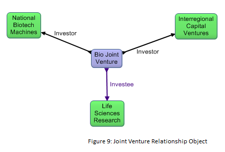 Joint Venture Relationship Object