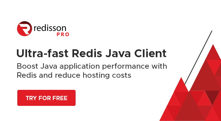 Redisson PRO, the ultra-fast Redis Java Client